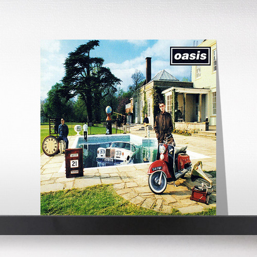 Oasis(오아시스) ‎– Be Here Now [Remastered 2016, 2LP]