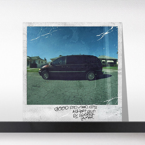 Kendrick Lamar(켄드릭 라마)  ‎– Good Kid, m.A.A.d City [2LP]