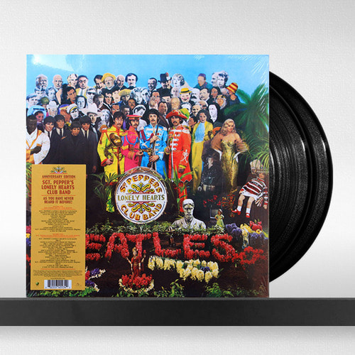 The Beatles  ‎– Sgt. Pepper's Lonely Hearts Club Band [발매 50주년 2 LP]