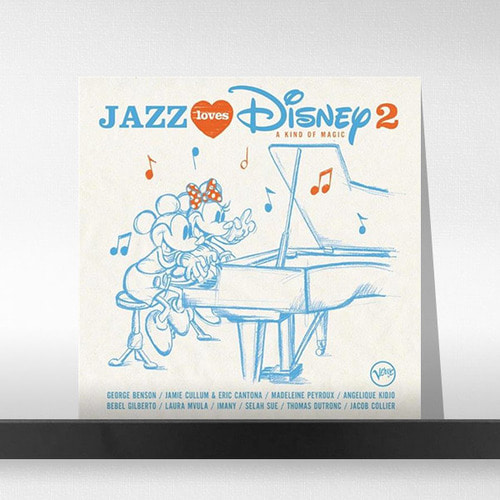Various  ‎– Jazz Loves Disney 2 (2LP) 재즈 러브 디즈니2집