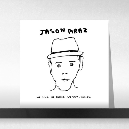 Jason Mraz  ‎– We Sing, We Dance, We Steal Things (Ltd. E)(Gatefold)(150G)(2LP)