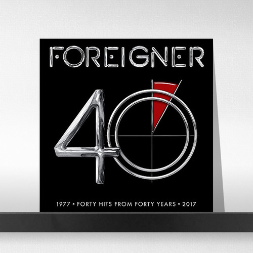 Foreigner ‎– 40 (2LP Deluxe Edition)