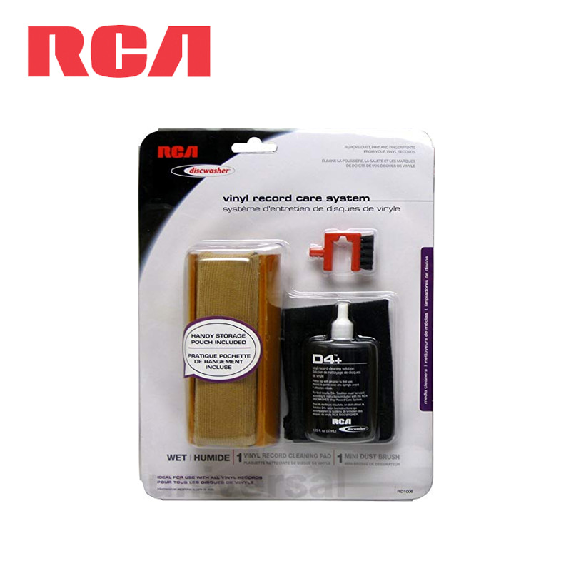 RCA Discwasher RD-1006 Record Cleaning Kit