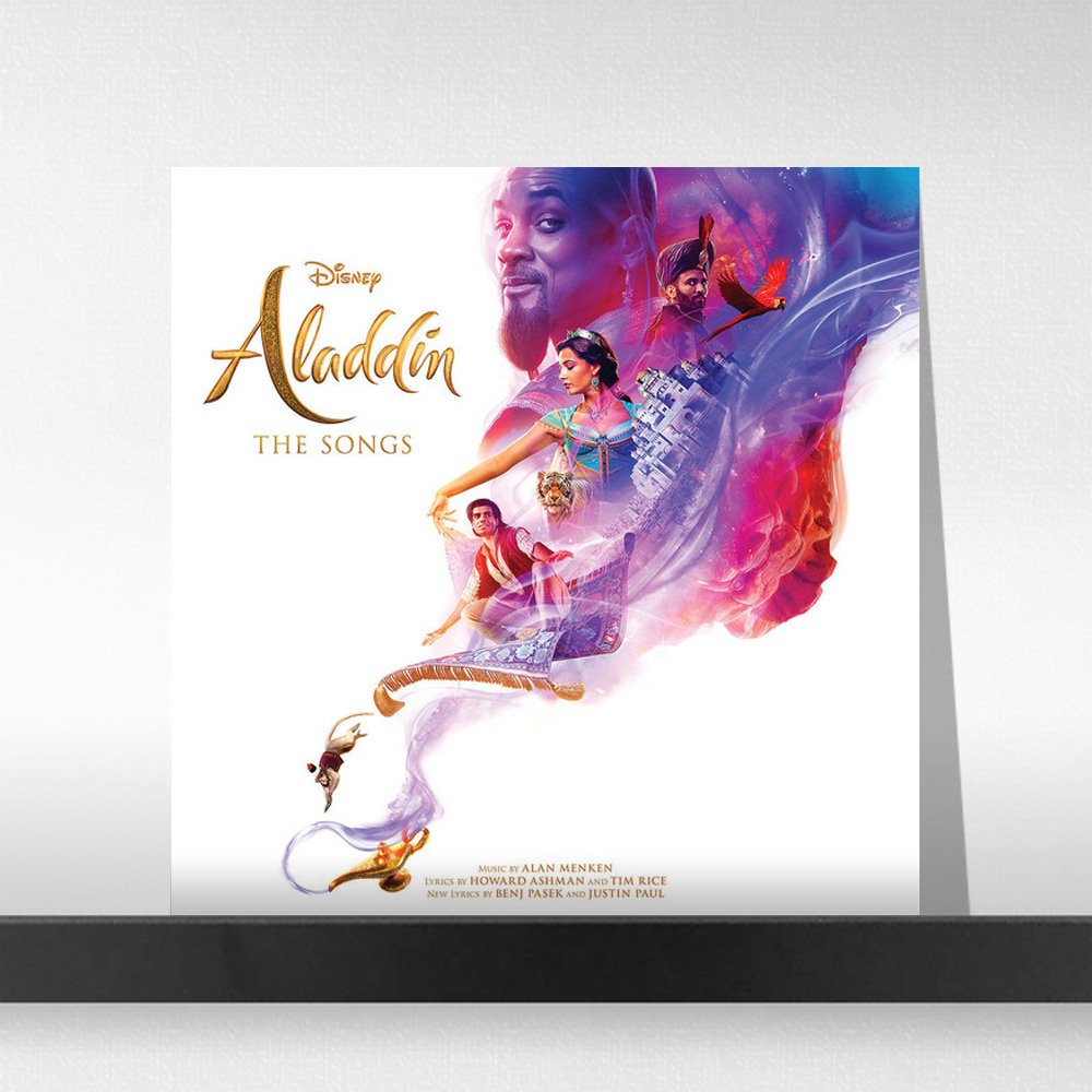 알라딘 영화음악 (Aladdin 2019 : The Songs OST) [LP]