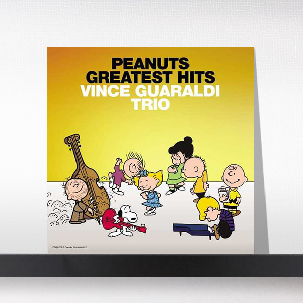 Vince Guaraldi(빈스 과랄디 트리오) - Peanuts Greatest Hits[LP]