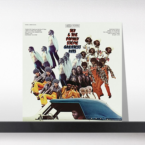 Sly & the Family Stone - SLY & THE FAMILY STONE Greatest Hits(1970)[LP]