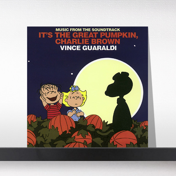 Vince Guaraldi(빈스 과랄디 트리오) - It's the Great Pumpkin, Charlie Brown (Music From the Soundtrack)[LP]