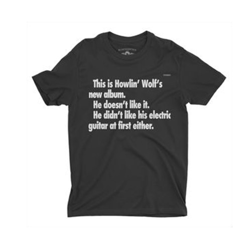 Howlin' Wolf This Is Howlin' Wolf's New Album  T-Shirt - Black