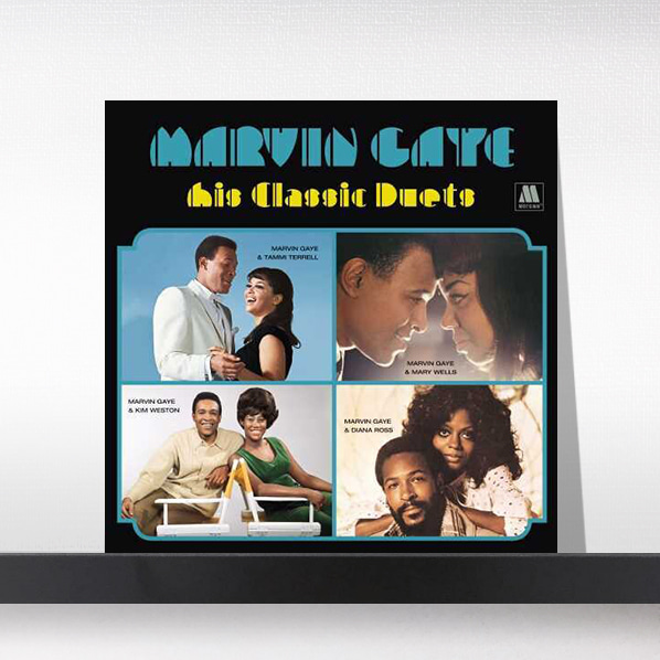 Marvin Gaye(마빈 게이) - His Classic Duets[LP]