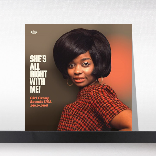 Various - She's All Right With Me! Girl Group Sounds Usa 1961-1968[LP]