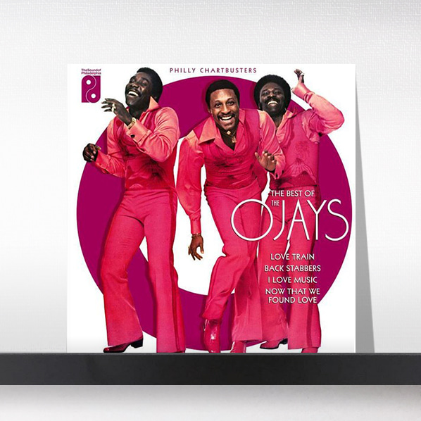 The O'Jays - Philly Chartbusters: Very Best Of (140gm Black Vinyl)[LP]