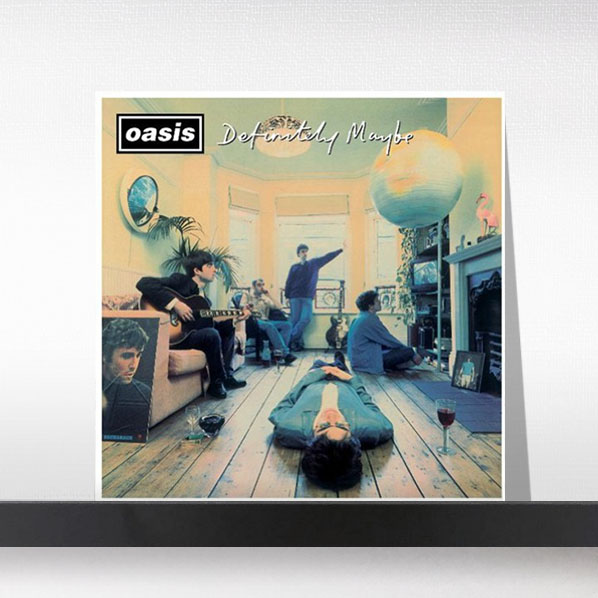 Oasis(오아시스) - Definitely Maybe (25th Anniversary)[2LP]